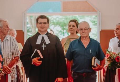 Culto de Ordenação na Comunidade São Sebastião de Belém - Santa Maria de Jetibá/ES