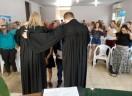 Culto de profissão de fé e batismo em Palmas-TO
