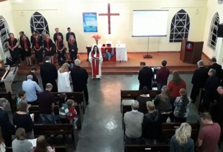 Culto de Instalação na Comunidade Concórdia - São José dos Pinhais/PR