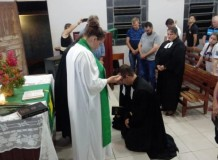 Culto de instalação da Pastora Janaína S. Hasse e Pastor Robson Hasse em Espigão do Oeste/RO