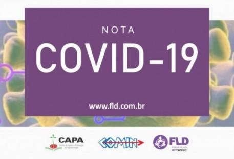 Nota da Fundação Luterana de Diaconia sobre COVID-19