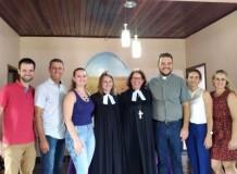 Culto de Instalação da Pa. Manuela na Paróquia de Ariquemes/RO