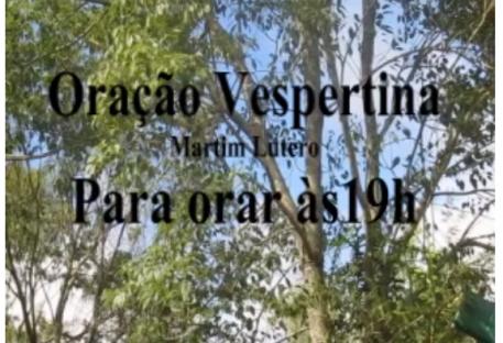 Oração Vespertina - 19-03-2020 - Paróquia de Gramado/RS