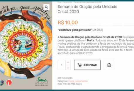 Semana de Oração 2020: e-book já está disponível