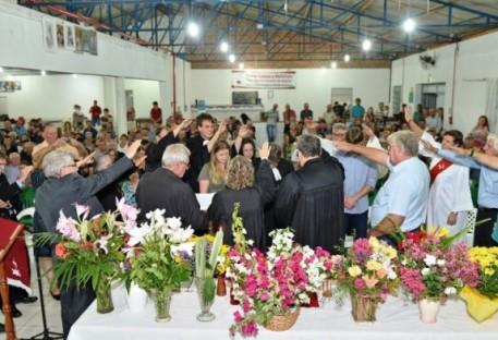 Culto de Desinstalação de P. Dietmar Teske no Sul-Rio-Grandense