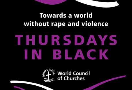 No Dia Internacional da Mulher, o CMI estimula as igrejas a se unirem às quintas-feiras de preto em direção a um mundo sem estupro e violência