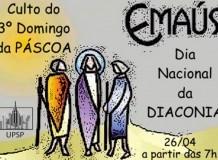 Culto 3º. Domingo da Páscoa - Dia Nacional da Diaconia - 26 de abril de 2020 - Paróquia Leste - São Paulo/SP