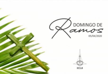 Mensagem da Pastora Silvia Beatrice Genz para o Domingo de Ramos 2020