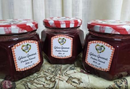 Geleia Gourmet de Amora com Morango