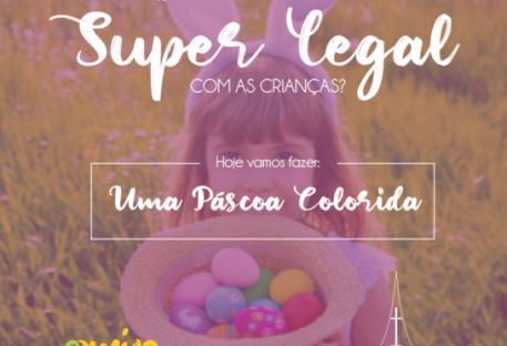 Uma Páscoa Colorida - Revista O Amigo das Crianças