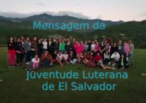 Mensagem da Juventude Luterana Salvadorenha