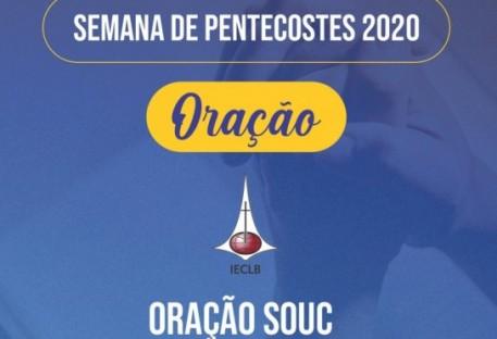 Oração da Semana de Oração pela Unidade Cristã (SOUC) 2020