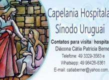 Mensagem Capelania Hospitalar Sínodo Uruguai - IECLB