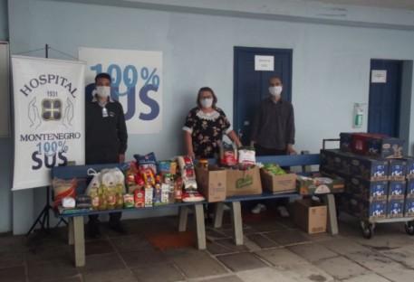 São José do Hortêncio/RS faz doação a hospitais