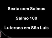 Sexta com Salmos - Salmo 100