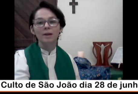 Mensagem culto de São João