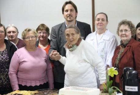 Hospital de Pomerode lembra história de Anita Guenther ao completar 100 anos