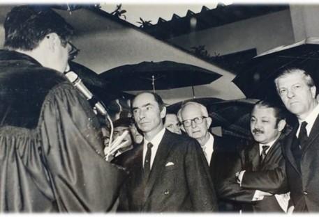 Um dia chuvoso, um dia de alegria - 12/07/1970 - em Santo André/SP