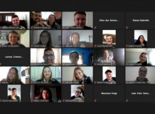 Jovens do Vale do Itajaí realizam encontro virtual para rever planejamento 2020