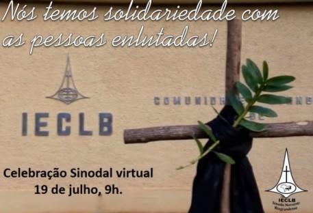 Culto Sinodal de Solidariedade às Vítimas do COVID-19