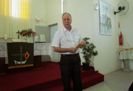Falecimento do Pastor Armando Emílio Claas