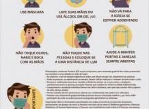 Retomada das atividades no Sínodo Vale do Itajaí estão suspensas