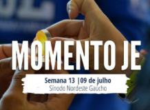 Momento JE/13 - Momento de Oração da Juventude Evangélica (JE)