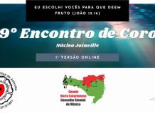 59º Encontro de Coros do Núcleo Joinville em edição virtual