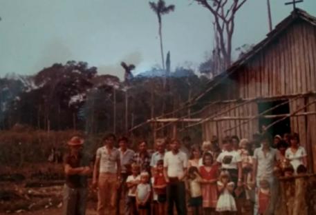 Contando a nossa história - Paróquia Caminho da Fé - Alta Floresta do Oeste/RO