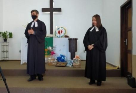 Culto de desinstalação, benção e envio