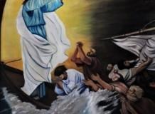Com Jesus no barco atravessamos as tempestades