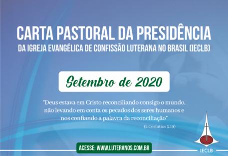 Carta Pastoral da Presidência da IECLB - Setembro de 2020