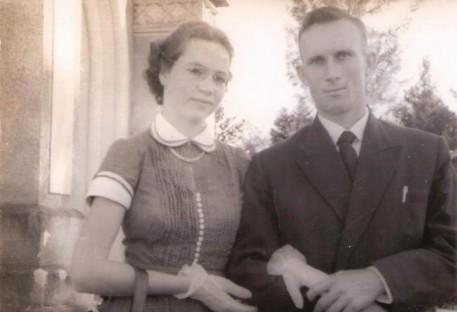 O Pastor Arno Wartschow e sua esposa Waltraut Soboll Wartschow