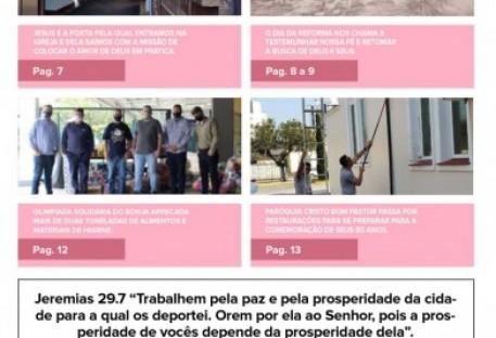 Joinville Luterano. Ano XX -  Número 122 - Outubro 2020