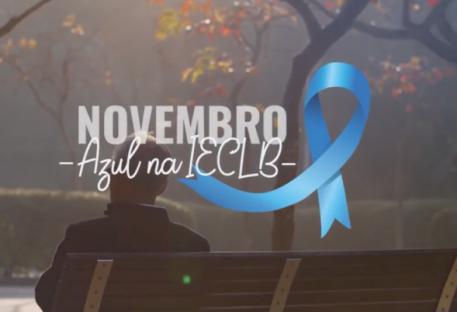 Campanha Novembro Azul na IECLB 2020 - Recursos para celebrar e refletir