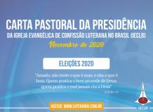 Carta Pastoral da Presidência da IECLB - Eleições 2020