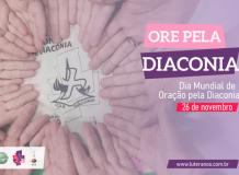 Dia Mundial de Oração pela Diaconia - 26 de novembro de 2020