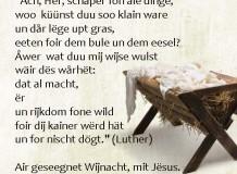 Oração de Natal - Martim Lutero