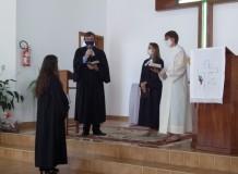 Culto de Instalação da Pa. Luciméri de Campos na Paróquia em Aurora/SC