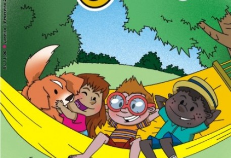 Que tal iniciar o ano com a revista O Amigo das Crianças?