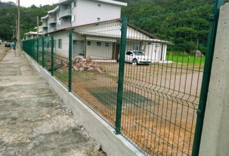 Segurança - Cerca Periférica no Centro de Eventos em Palmas - Governador Celso Ramos/SC