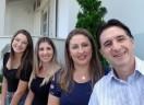 O casal Hilton Gorris e Christiane Plautz despede-se das atividades em Brusque/SC