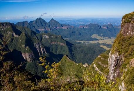 Galo Verde abraça Parque Nacional São Joaquim