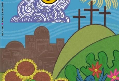 Chegou a edição de Páscoa da revista O Amigo das Crianças