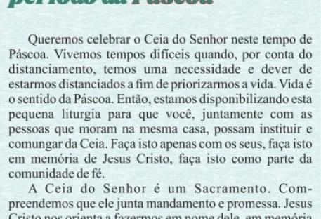 Liturgia de Páscoa - Sínodo Uruguai