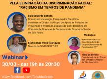 Racismo em Tempos de Pandemia - Webinar