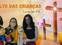 Culto de Páscoa das Crianças - Paróquia do ABCD, Santo André/SP - 04/04/2021
