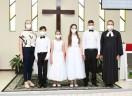 Em Garuva, Culto de Confirmação...