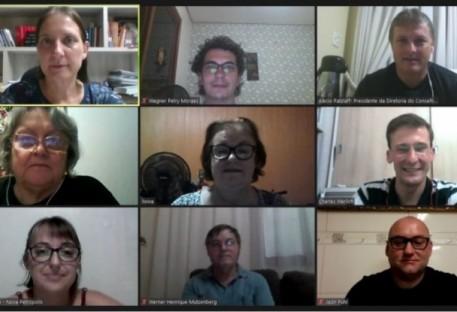 Reunião da diretoria do Conselho Sinodal do Sínodo Nordeste Gaúcho