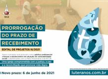 EDITAL DE PROJETOS III/2021 - Fortalecimento da Ação Comunitária